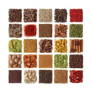 Sklenený obraz Spices Of Paradise, 30x30 cm