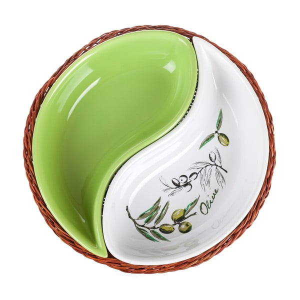 Misa v košíku Banquet Olives, 20,5 cm