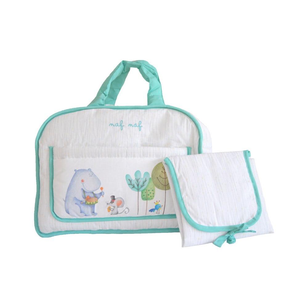 Set tašky cez rameno a prebaľovacej podložky Naf Naf Happy Hipo