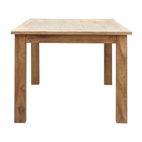 Drevený jedálenský stôl z teakového dreva Attitude Teak, 100×200cm