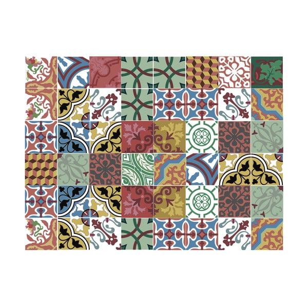 Koberec z vinylu Mosaico Collage, 99x120 cm