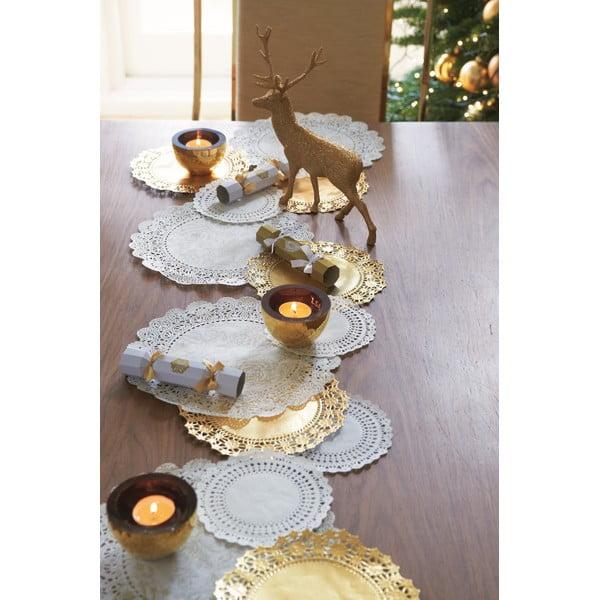 Zlatý dekoratívny jeleň Talking Tables