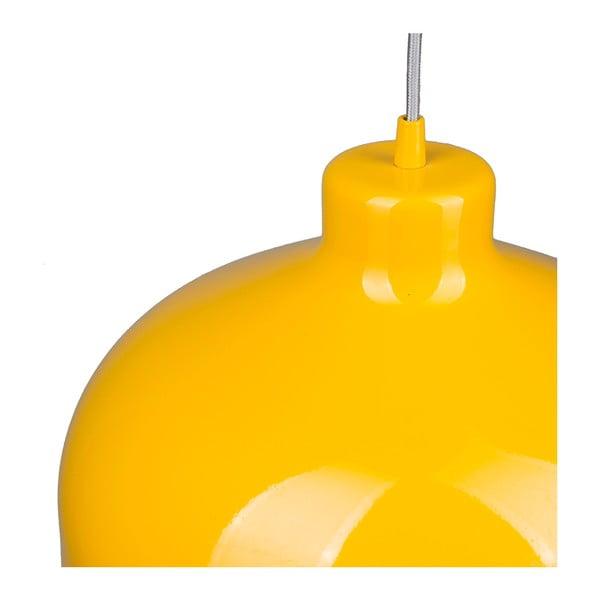 Žlté stropné svetlo Loft You B&B, 44 cm