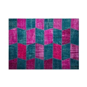 Vlnený koberec Allmode Zig Fush, 150x80 cm