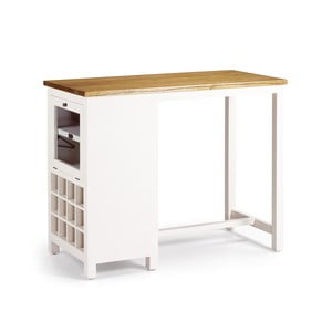 Konzolový stôl s priestorom na víno Amara