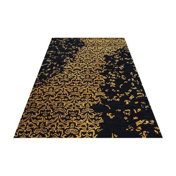 Vlnený koberec New Jersey Gold, 153x244 cm