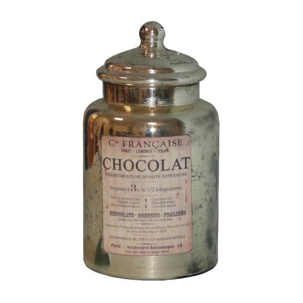Sklenená dóza Chocolat Paris