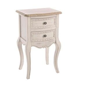 Nočný stolík s dvoma zásuvkami Clarisse