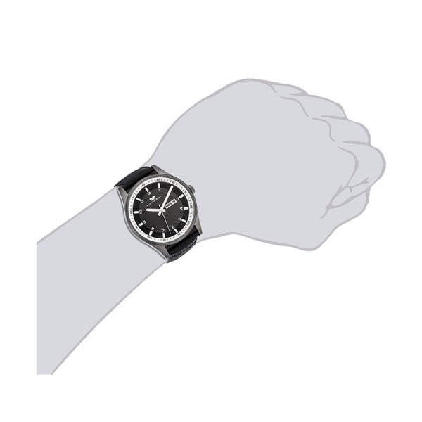 Pánske hodinky Rhodenwald&Söhne Couragian Black/Grey