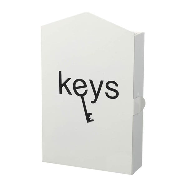 Box na kľúče Classic White
