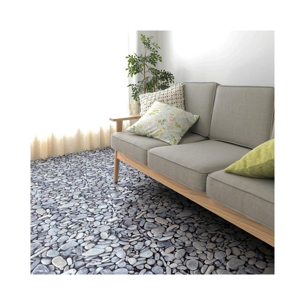 Samolepka na podlahu Ambiance Slab Stickers Pebble, 40 × 40 cm
