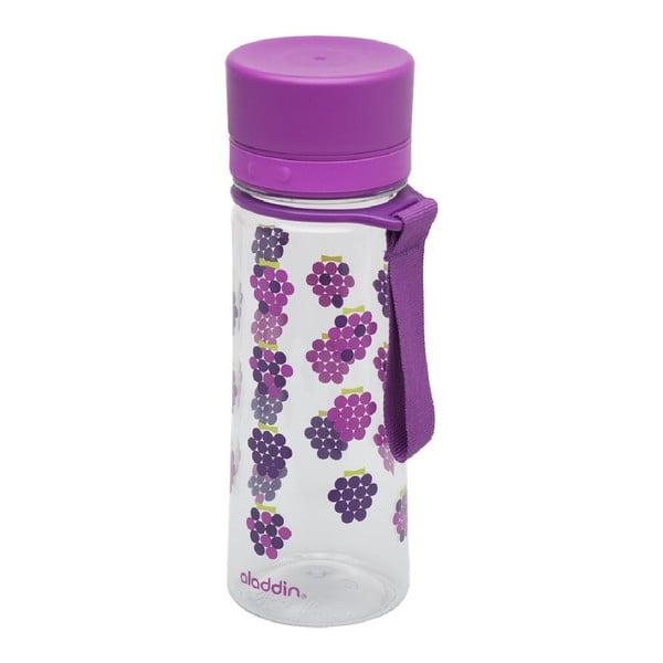 Detská fľaša na vodu Aveo 350 ml, fialová