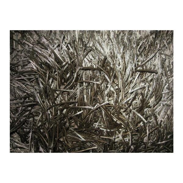 Béžový ručne tkaný vlnený koberec Linie Design Dishy, 170x240cm