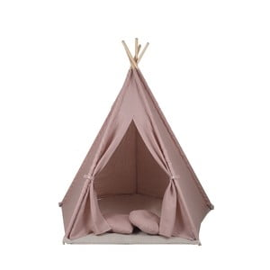 Ružové päťuholníkové teepee VIGVAM Design My Linen World