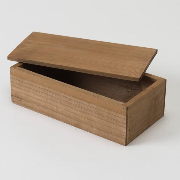 Úložný box z jedľového dreva Compactor Vintage, šírka 23,5 cm