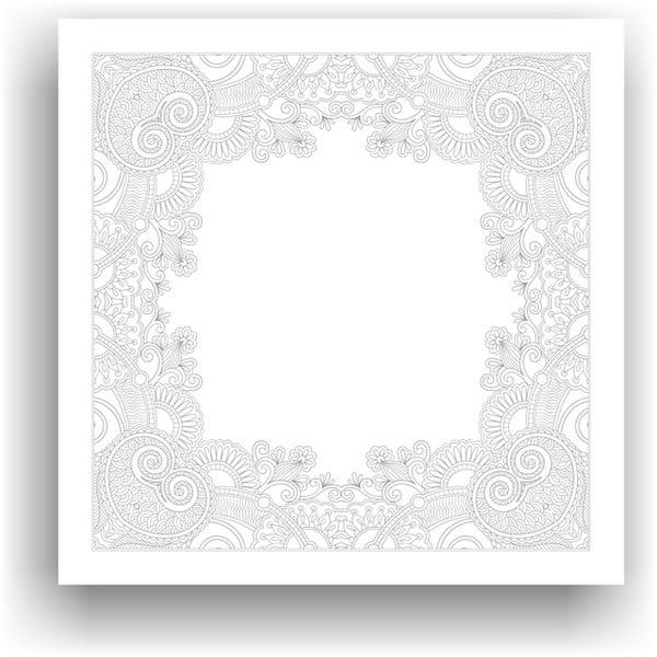 Obraz na vymaľovanie Color It no. 108, 50x50 cm