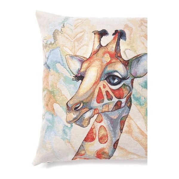 Obliečka na vankúš Giraffe, 45x45 cm