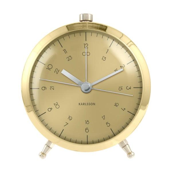 Zlatý budík Present Time Button