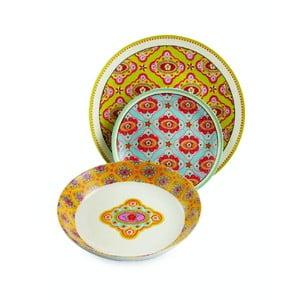Sada porcelánových tanierov Dinasty, 18 ks