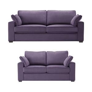 Dvojdielna sedacia súpravaJalouse Maison Serena, fialová