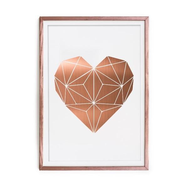 Obraz Really Nice Things Cobre Heart, 60 x 40 cm
