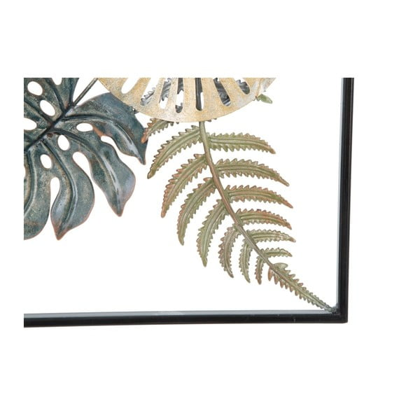 Železná nástenná dekorácia s prírodnými motívmi Mauro Ferretti Too Natura