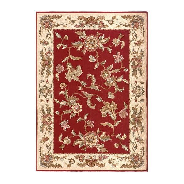 Vlnený koberec Byzan 539 Granate, 140x200 cm