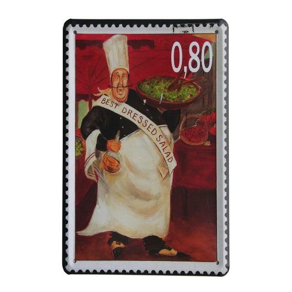 Ceduľa Stamp Chef II, 15x21 cm