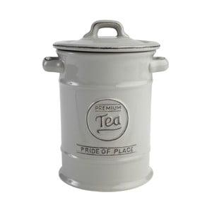 Sivá keramická dóza na čaj PrideofPlace