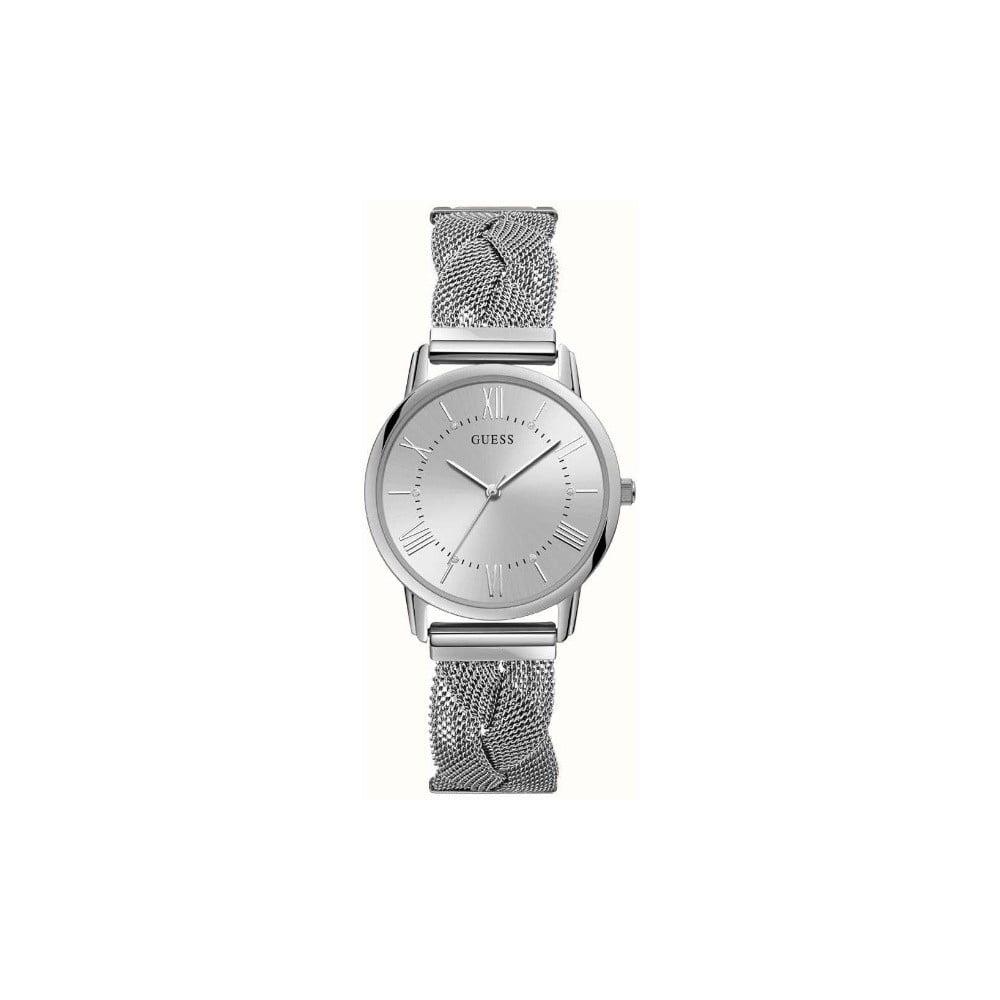 Dámske hodinky v striebornej farbe s antikoro remienkom Guess W1143L1