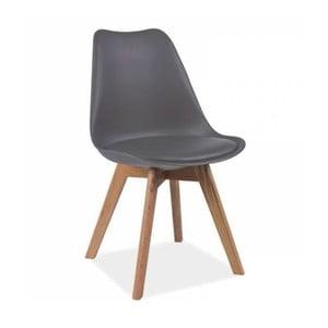 Sivá stolička Vivir Guay