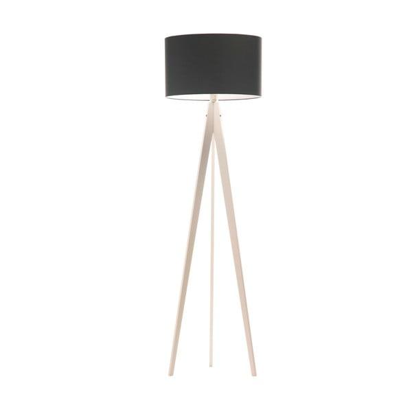 Stojacia lampa Artist Poly Grey/White, 150x42 cm