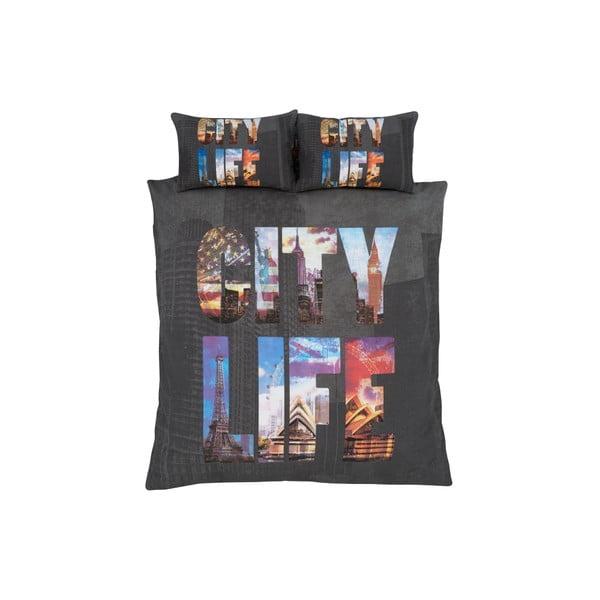 Obliečky City Life, 135x200 cm
