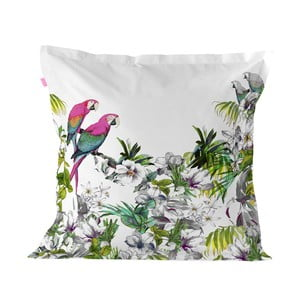 Bavlnená obliečka na vankúš Happy Friday Pillow Cover Blue Macaw, 60 × 60 cm