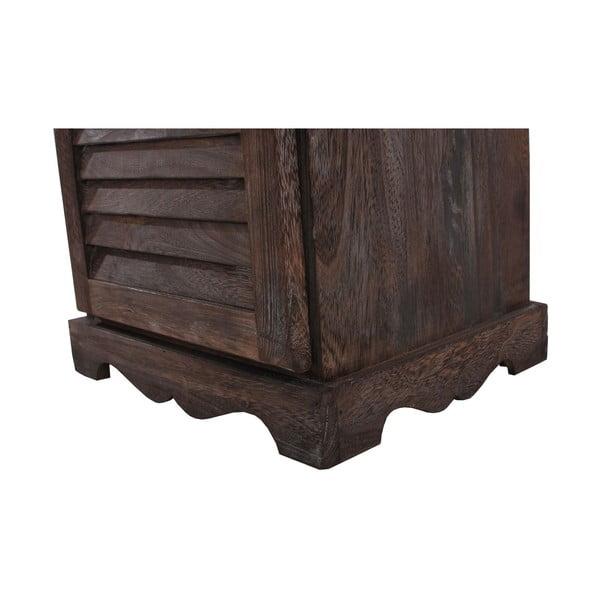 Hnedá komoda/nočný stolík Mendler Shabby