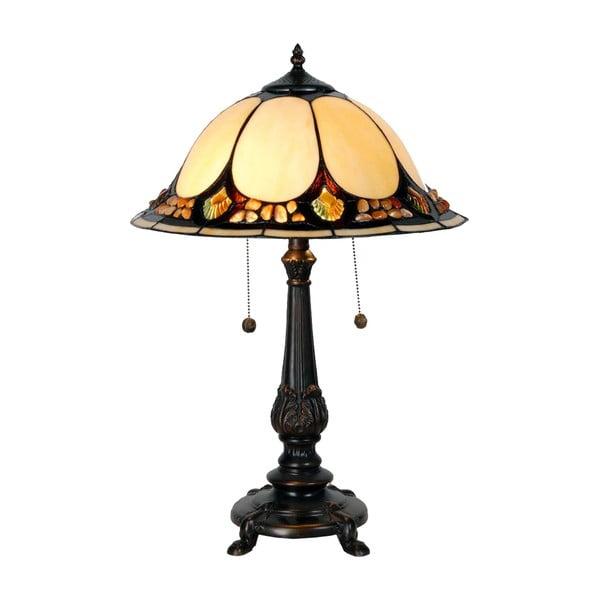 Tiffany stolová lampa Complete, 41 cm