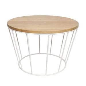 Odkladací stolík Basket White