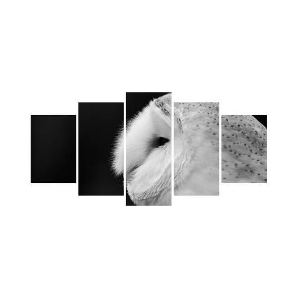 Viacdielny obraz Black&White no. 90, 100x50 cm