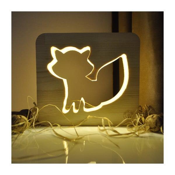 Detská lampička Creative Gifts Líška
