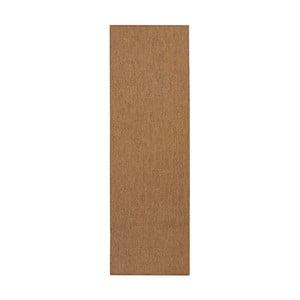 Hnedý behúň BT Carpet Sisal, 80 × 350 cm