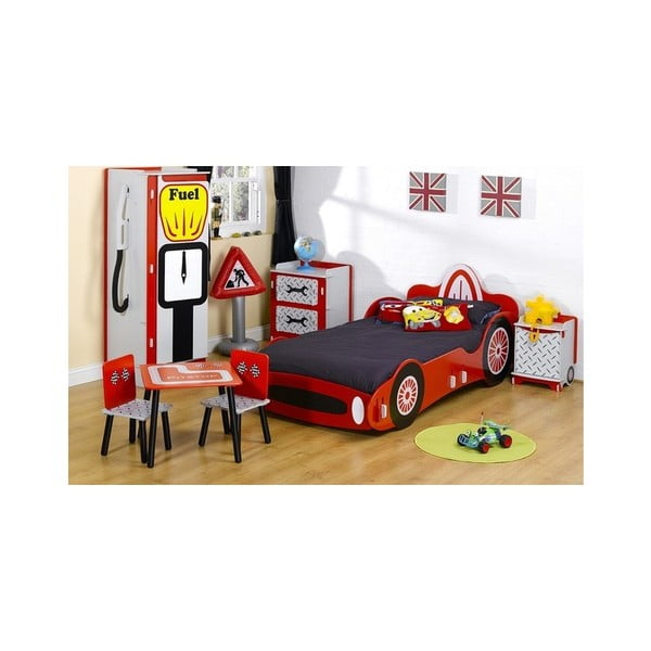 Detský nočný stolík Race Bin