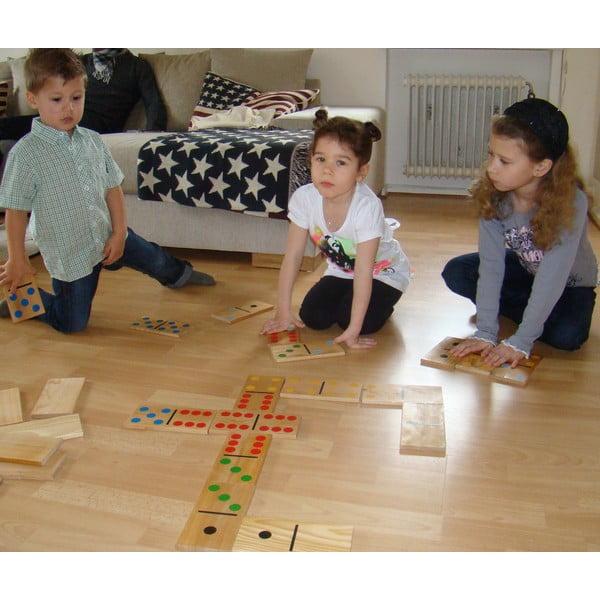Záhradná hra pre celú rodinu Obrie domino