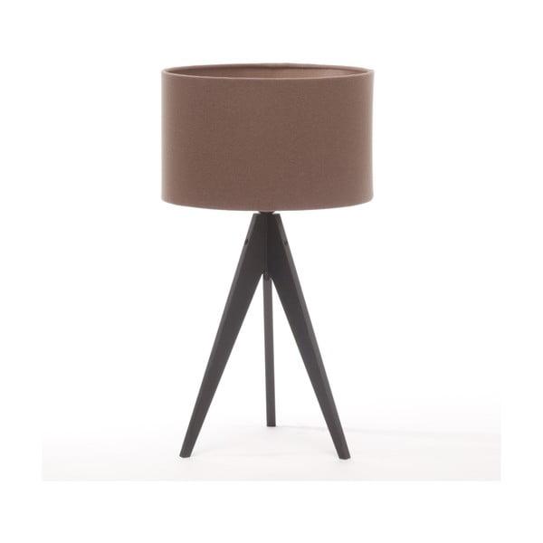 Stolná lampa Arist Dark Taupe/Black