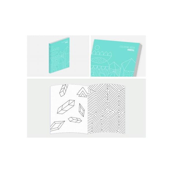 Notes s maľovankami Mineral