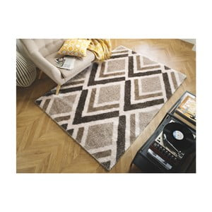 Koberec Flair Rugs Bijoux Beige Brown, 120 × 170 cm
