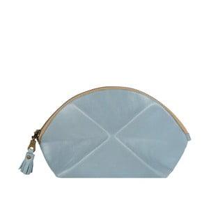 Listová kabelka/kozmetická taška Pyramid, svetlo modrá
