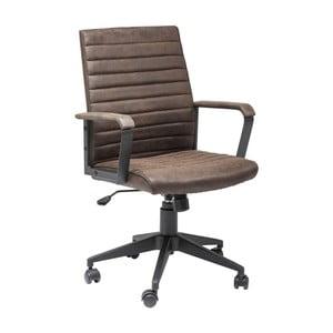 Hnedá kancelárska stolička Kare Design Labora