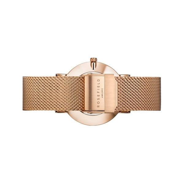Dámske hodinky s bielym ciferníkom Rosefield The Mercer