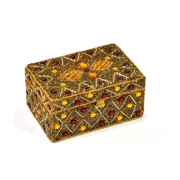 Bohato zdobená šperkovnica Daman