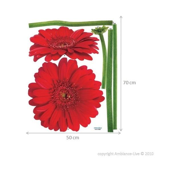 Samolepka Ambiance Gerbera Flowers